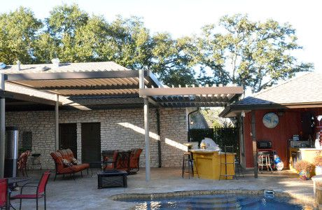 Protective patio cover with equinox louvered roof equinoxtexas protective patio cover with equinox louvered roof equinoxtexas solutioingenieria Gallery