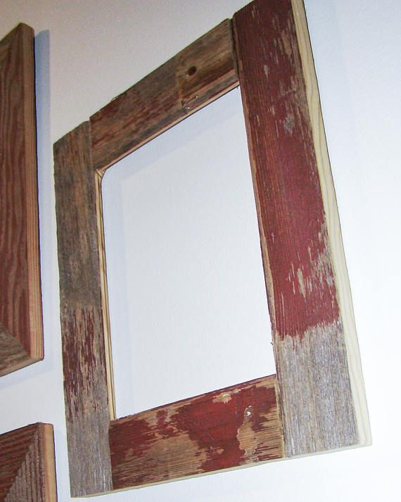 Authentic Barnwood Frame 16x20 Old Barn Wood Recycled Repurposed