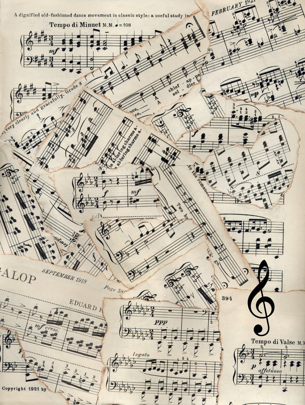 sheet music 2 wallpaper - photo #23