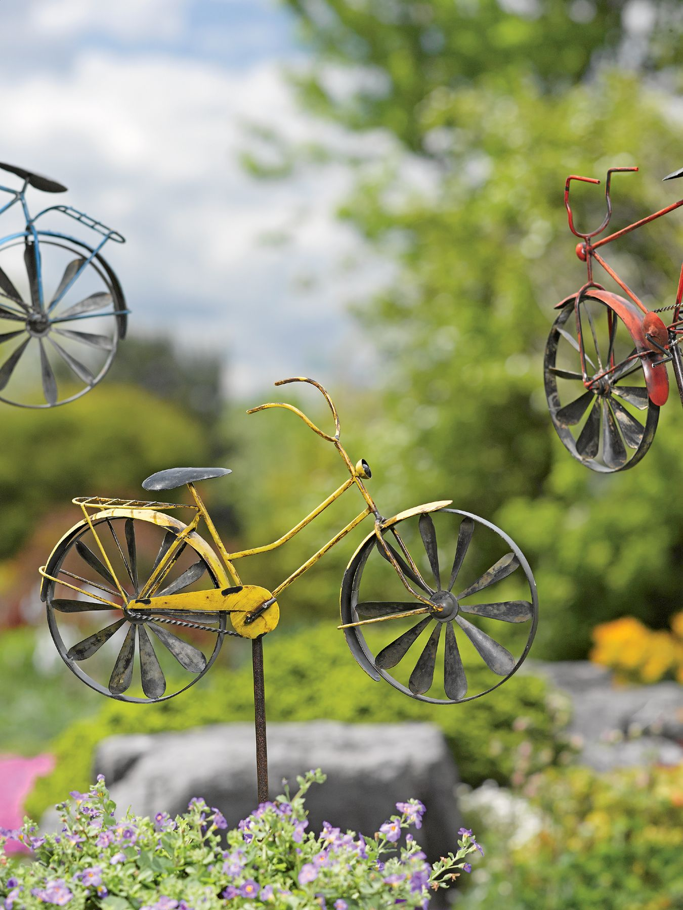 Yard and garden decor - Bicycle Stake :) | All About Bicycles ...
