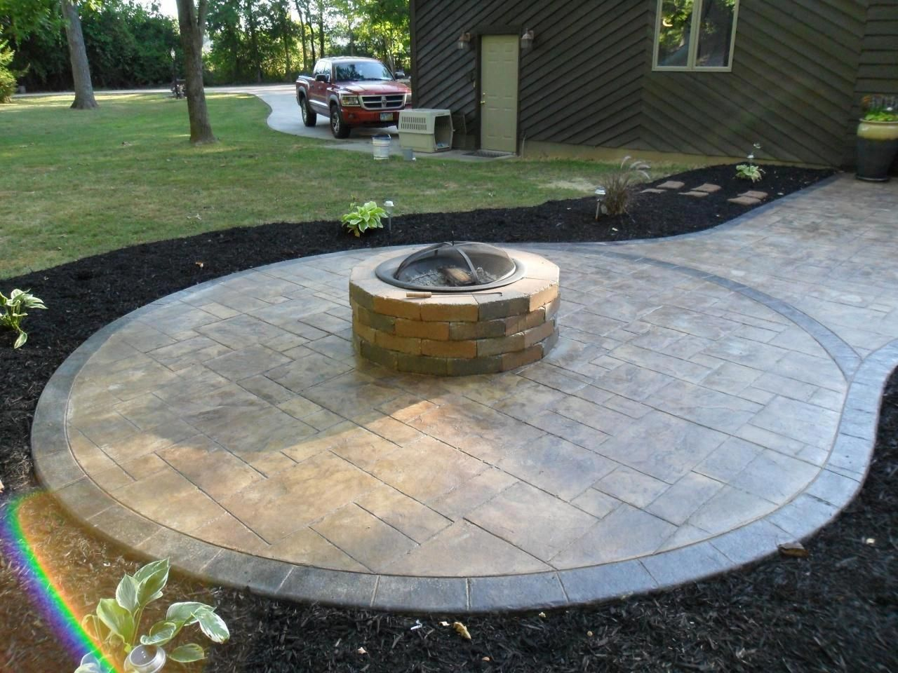 Pin On Fire Pit Materials