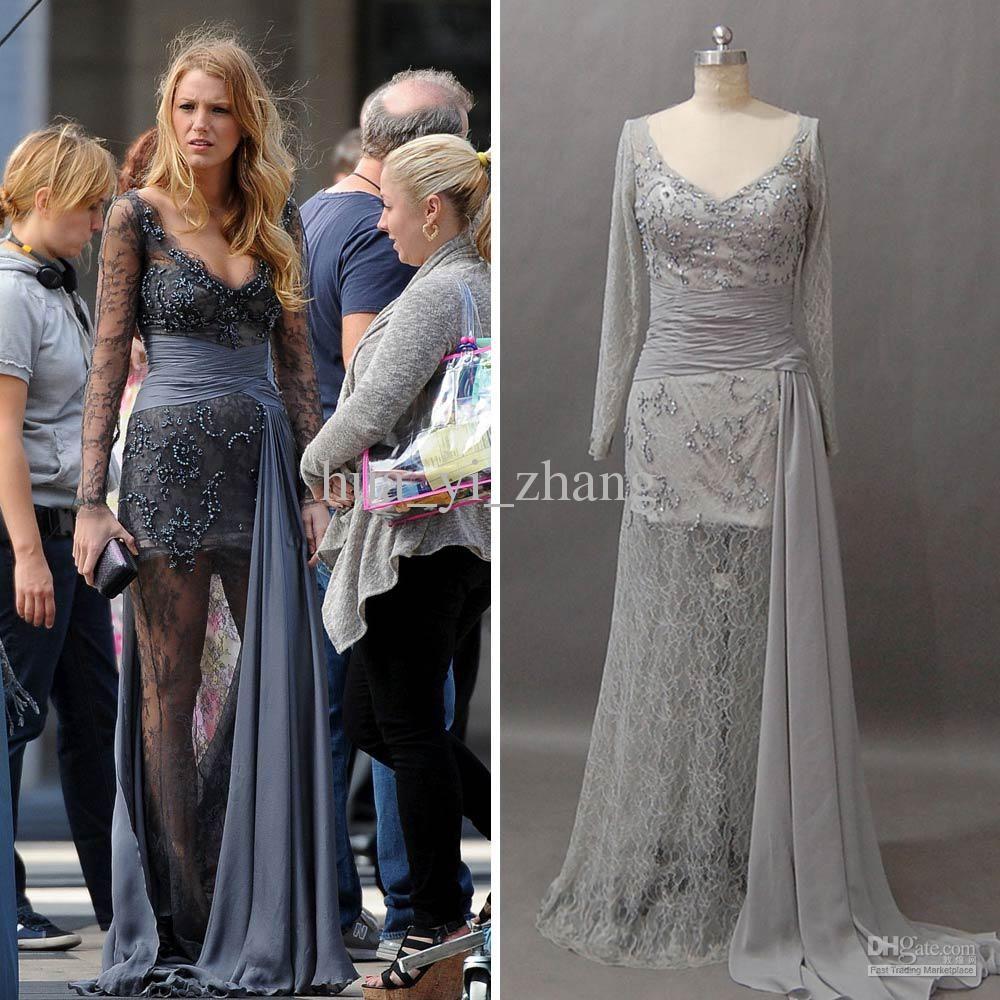 zuhair murad grey lace dress - Поиск в Google