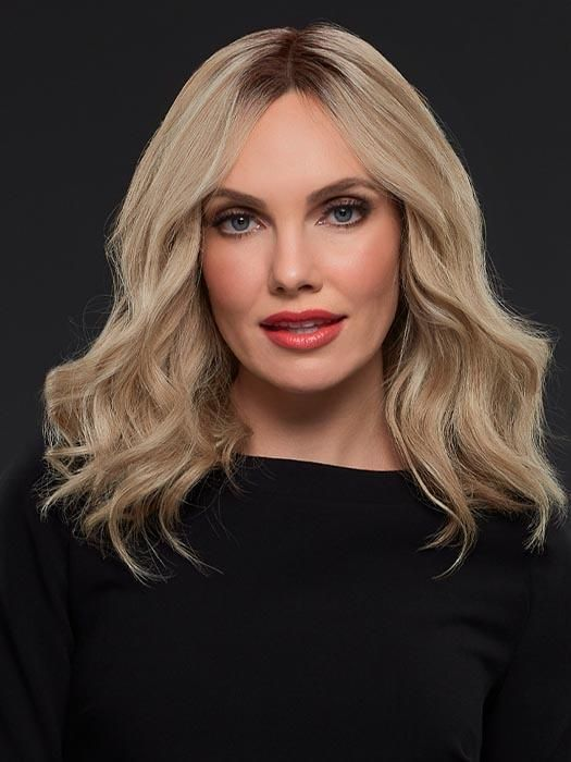 Gwyneth Exclusive Colors   Remy Human Hair Lace Front Wig (Hand-Tied) #naturalashblonde