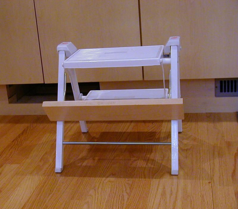 Toe Kick Step Stool I Have One In My Kitchen Home