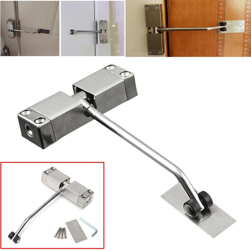 Adjustable Automatic Strength Spring Door Closer Hinge Fire Rated Door Channel Spring Door Closed Doors Fire Rated Doors