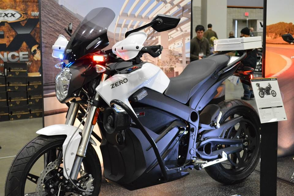 Zero Motorcycles Police Bike Of The Future