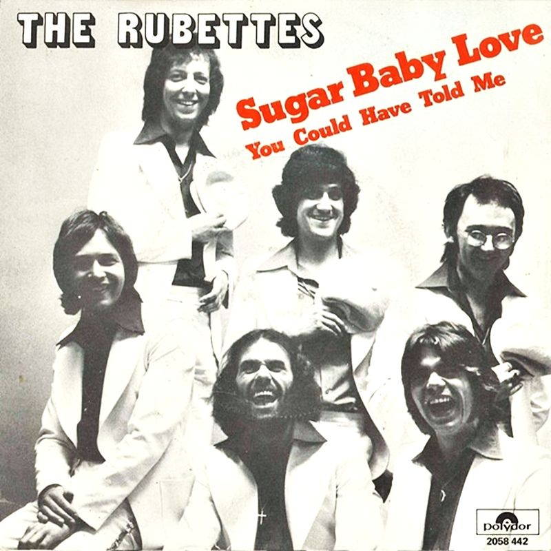 The Rubettes Sugar Baby Love 1974 45 Sleeves In 2019