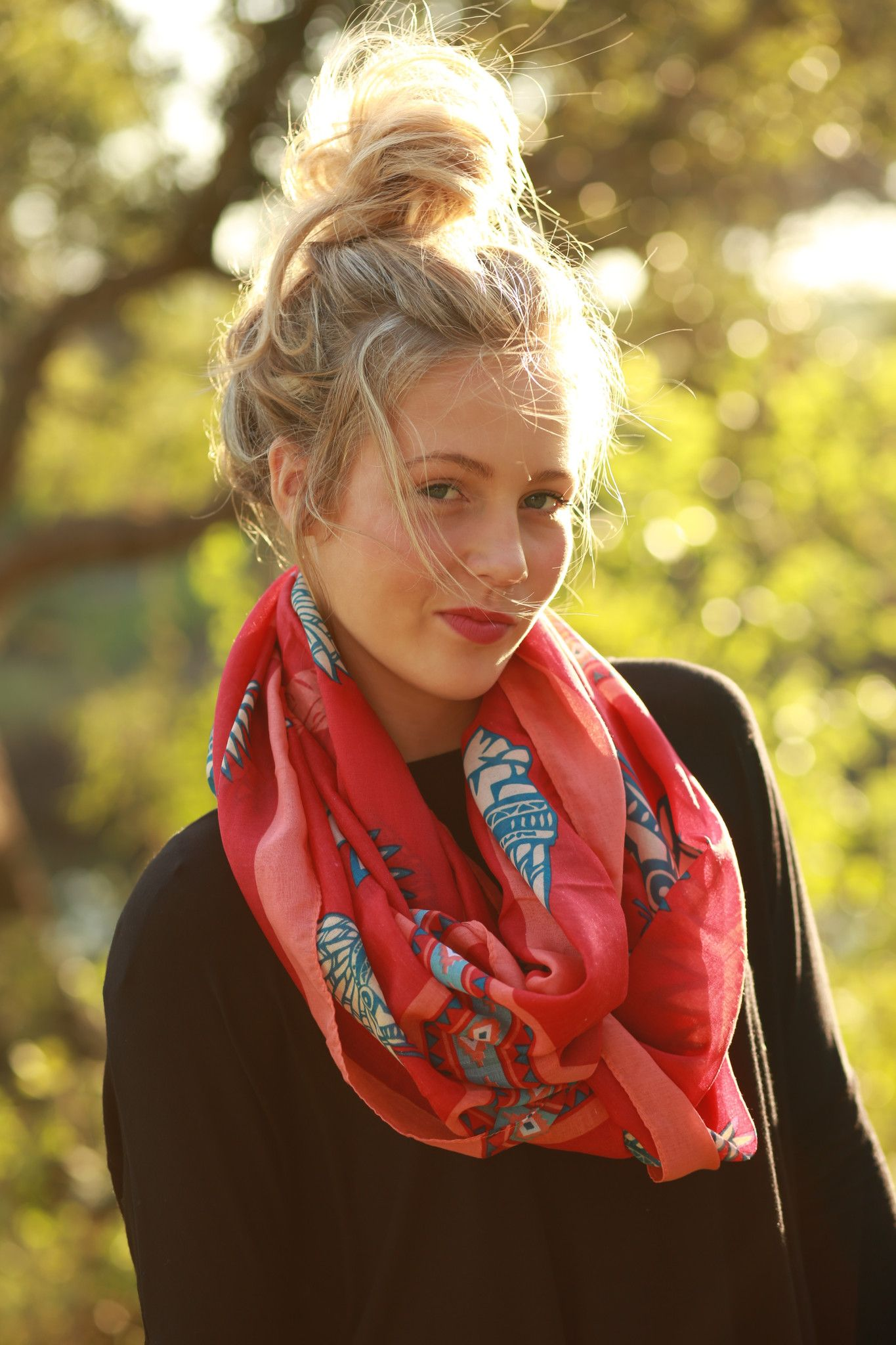 Cherokee Infinity Scarf from The Charming Arrow Boutique