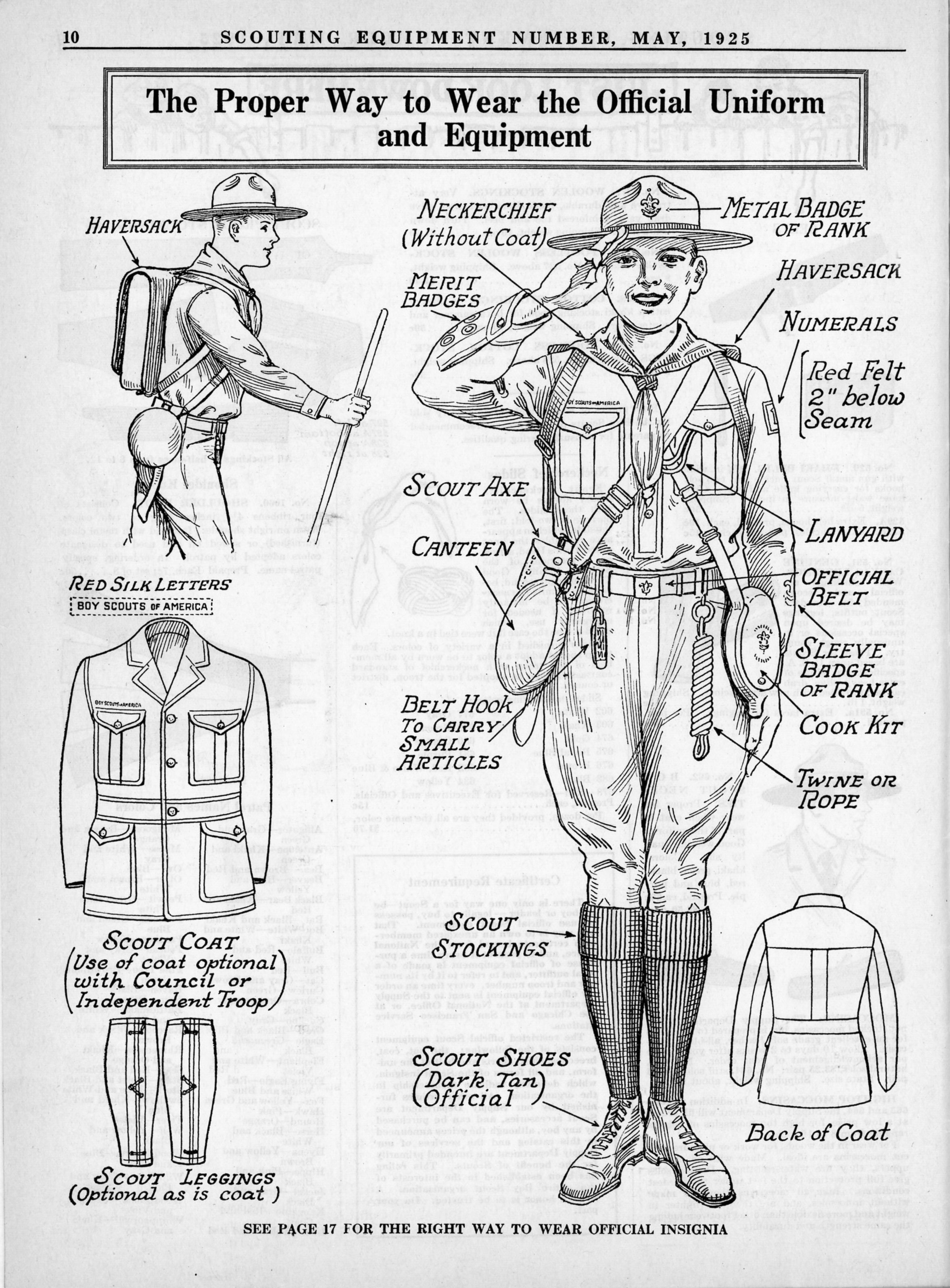 1925 Scouting Equipment Catalog Scoutmastercg Com