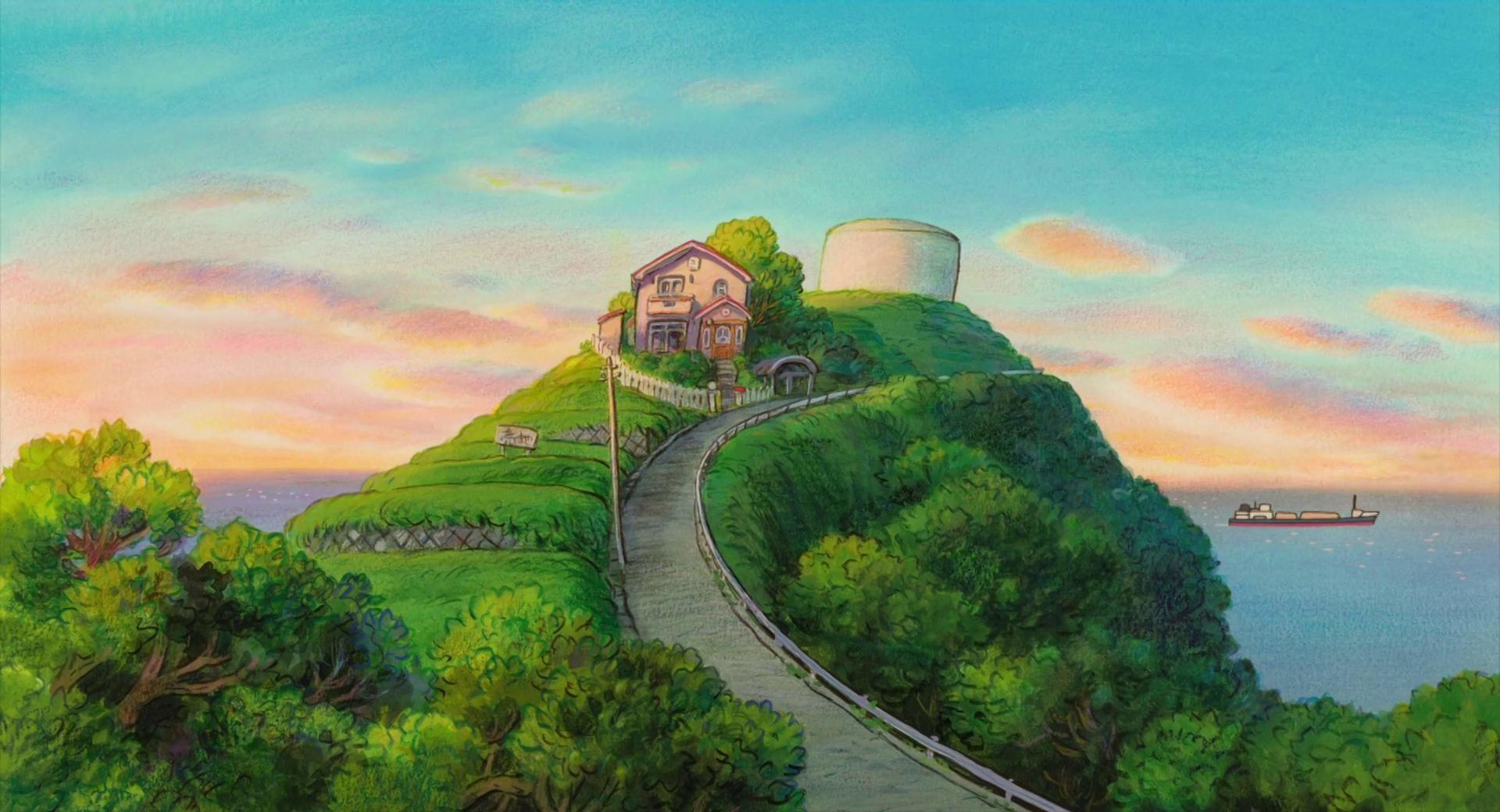 Anime Landscapes Wallpaper | 1920x1040 | ID:46549 | Ghibli ...