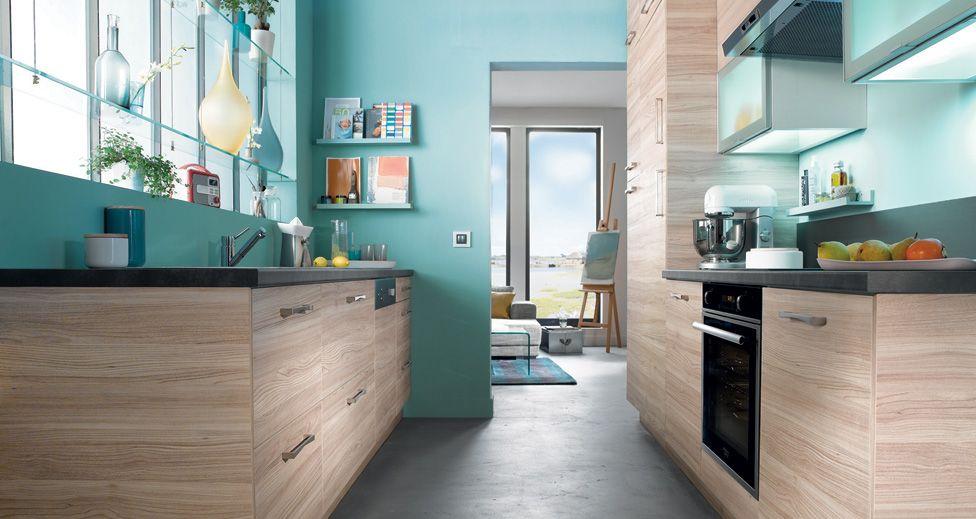 Aménager une cuisine en longueur - Amenagement Cuisine En U