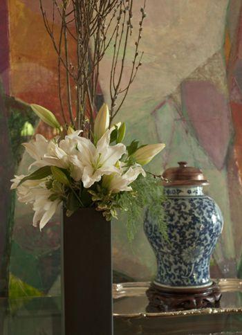 New York Flower Design At New York Flower Flower School Vase