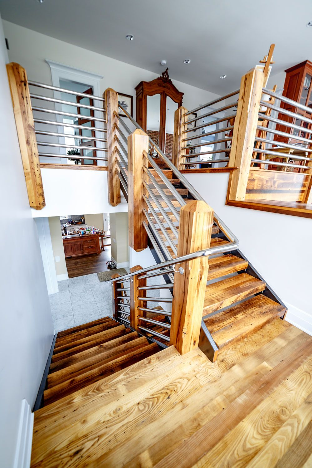 Best Custom Wood Stair Treads Manufacturer Stair Renovation 400 x 300