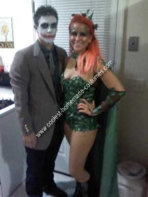 Coolest homemade poison ivy and joker couple costume poison ivy diy costumes solutioingenieria Images