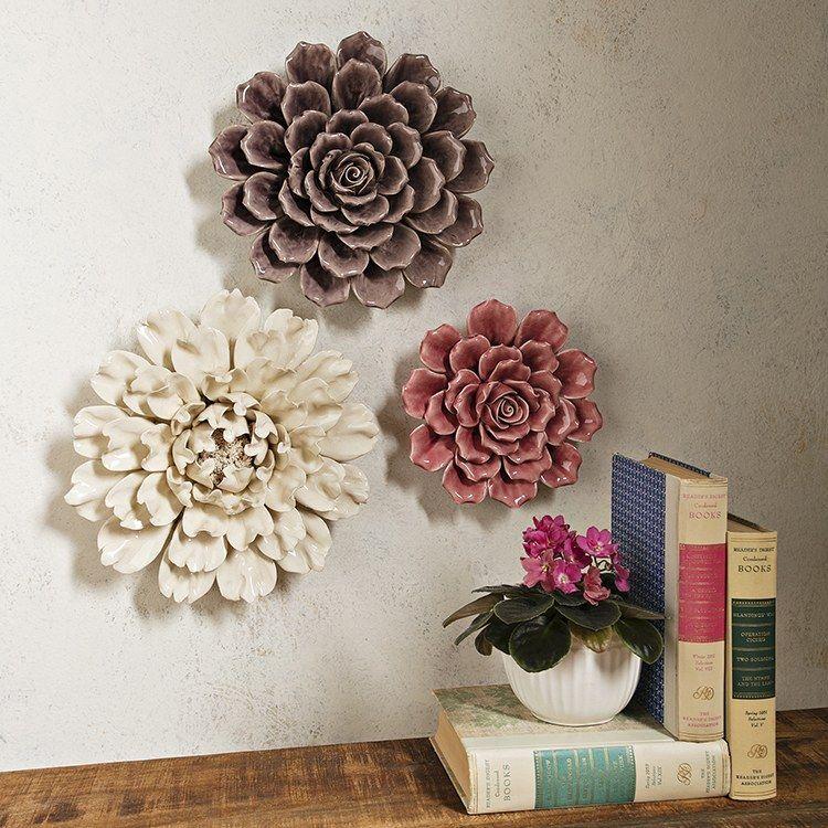 Park Art|My WordPress Blog_Clay Wall Art Flowers