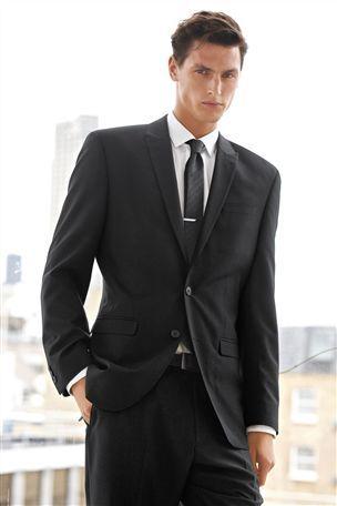Buy Black Regular Fit Suit: Jacket from the Next UK online shop