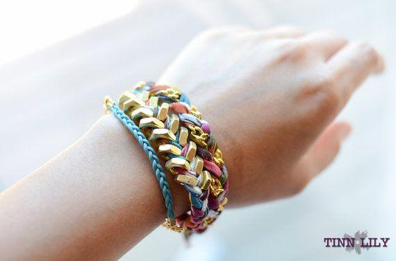 Tinlilly double wrap bracelet.