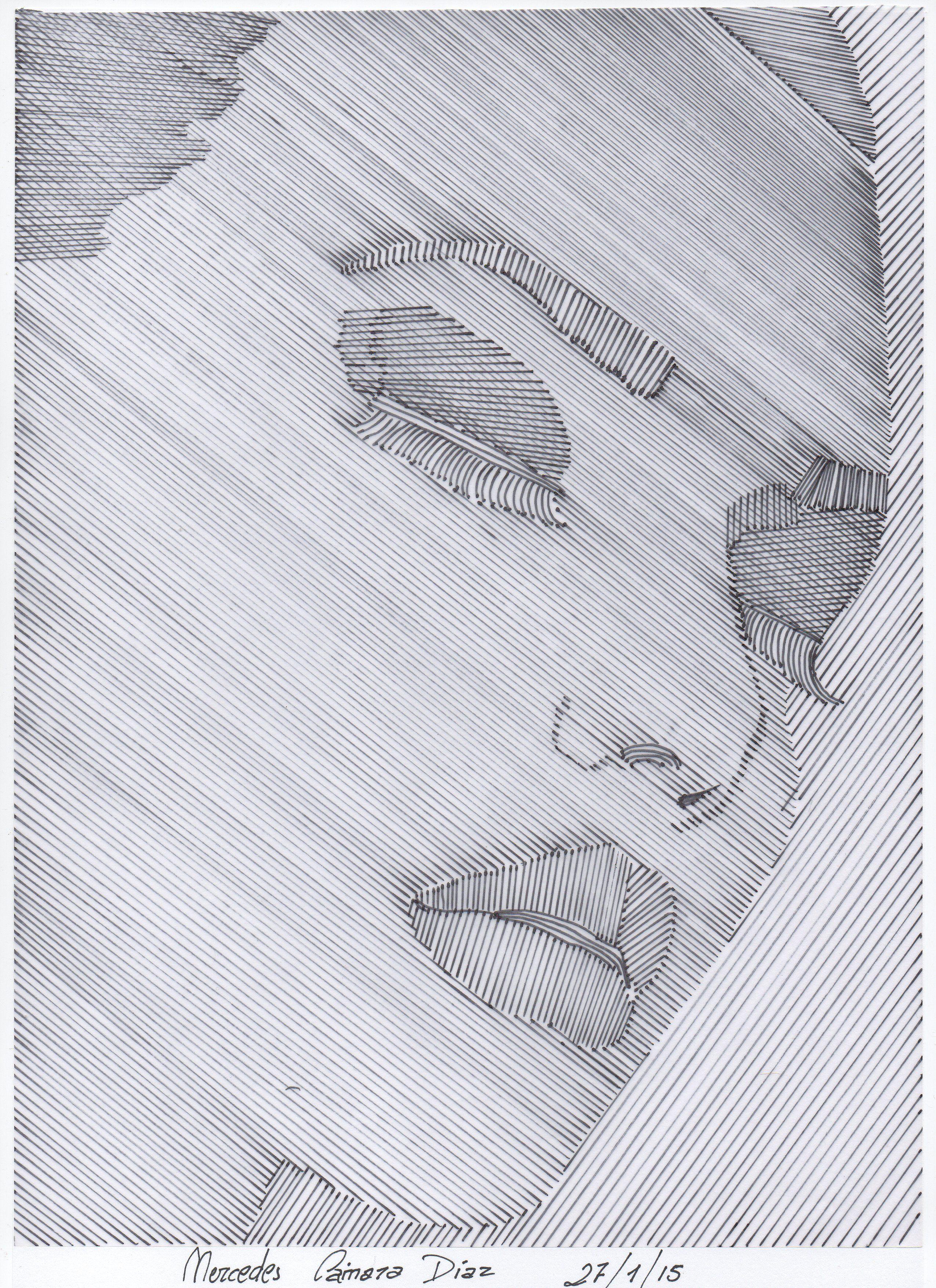 Parte 1 trama lineal a mano alzada o mediante - Papel para dibujar ...