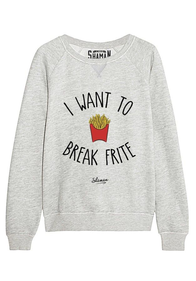 Pulls Pull Break Vêtements T Sweat Shirt Et Pinterest Frite xpfnOE