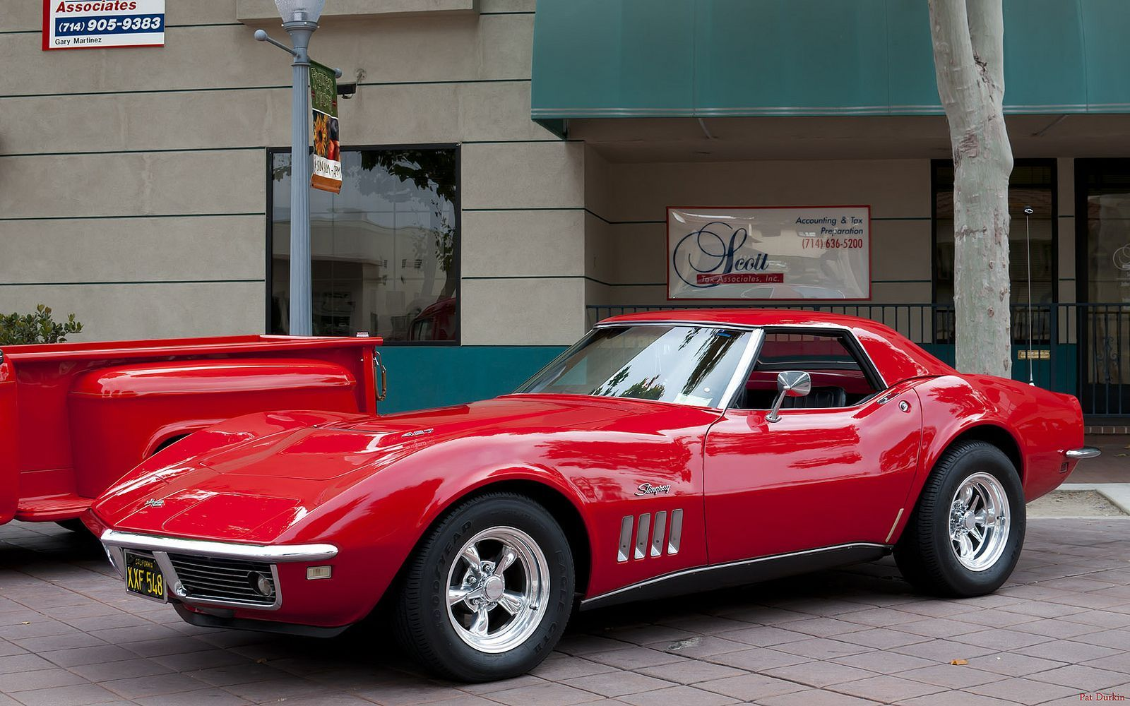 1968 Chevrolet C3 427 Corvette Rally Red Fvl Historic Main