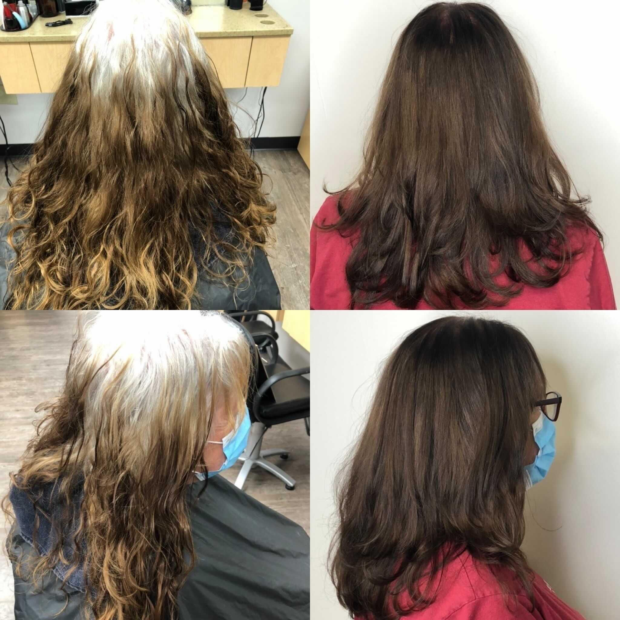 Gray Coverage And All Over Hair Color From Smartstyle Hair Salons In Walmart Mysmartstyle Makeover In 2020 Fresh Haircut Hair Styles Long Hair Styles