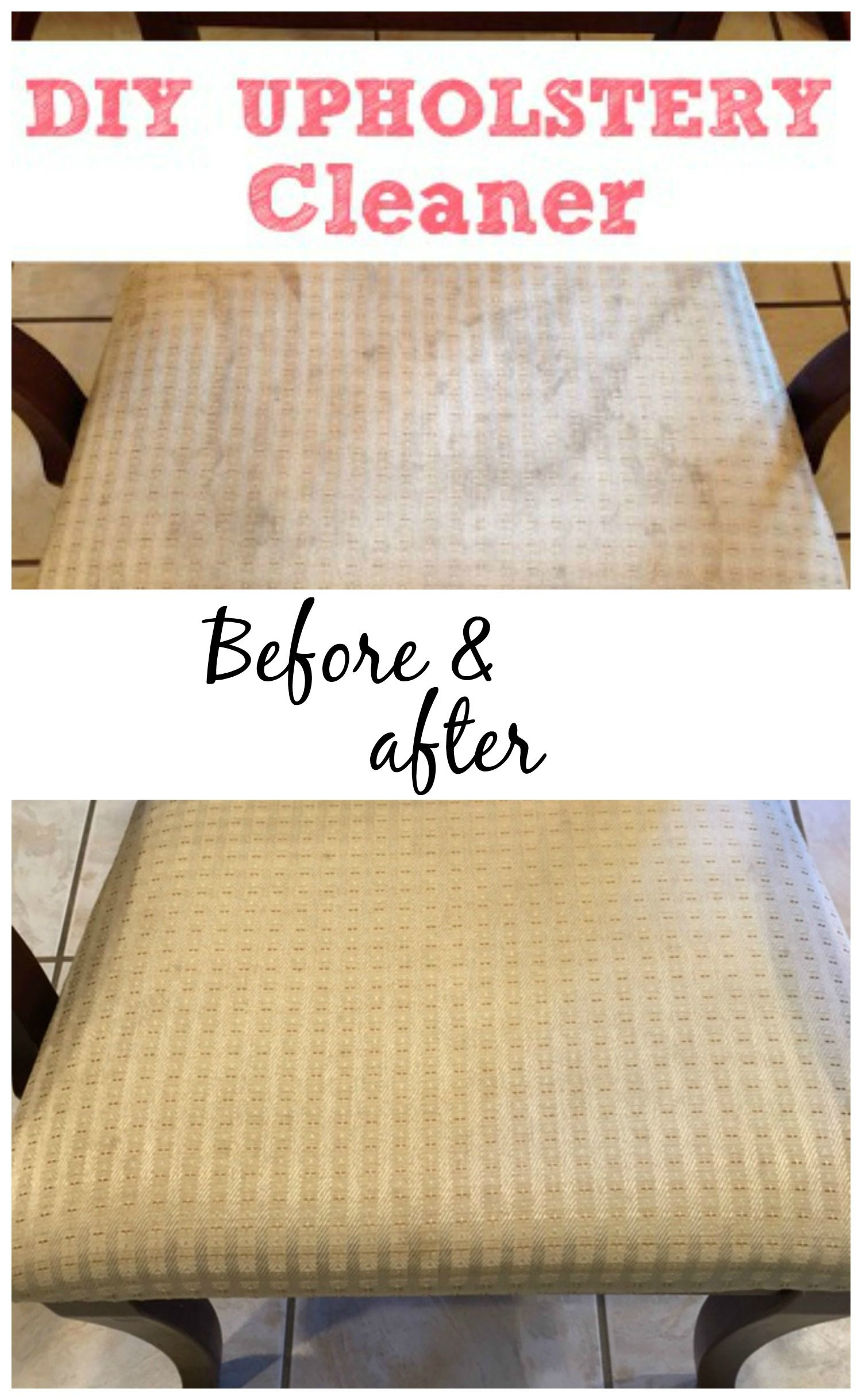 Wonderful Get The Stains Out Of Your Furniture With This Simple DIY Upholstery Cleaner.  It Only