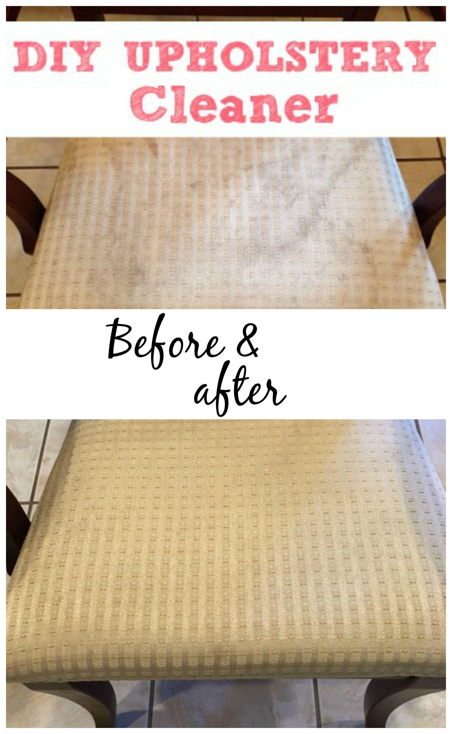 Homemade Upholstery Cleaner Homemade Upholstery Cleaner Diy