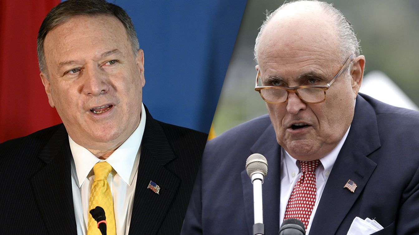 Pompeo Appeared To Coordinate With Giuliani On Ukraine New Documents Show Marie Yovanovitch Ukraine Freedom Of Information Act