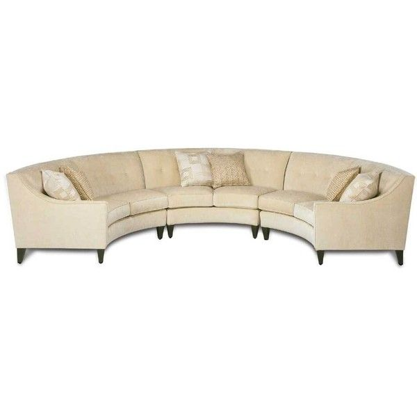 Eero Half Circle Sectional Sofa By Rowe Simon S Furniture Found On Polyvore