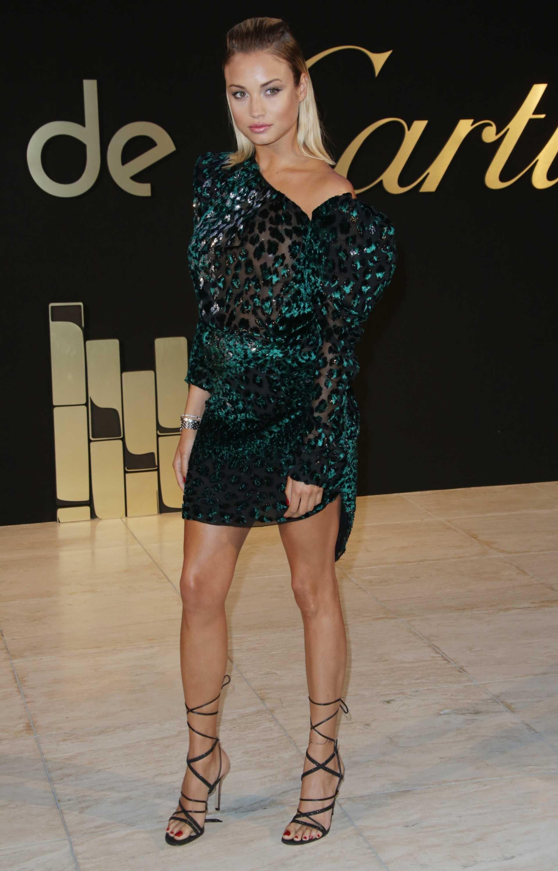 Sveva alviti panthere de cartier watch launch in la new photo