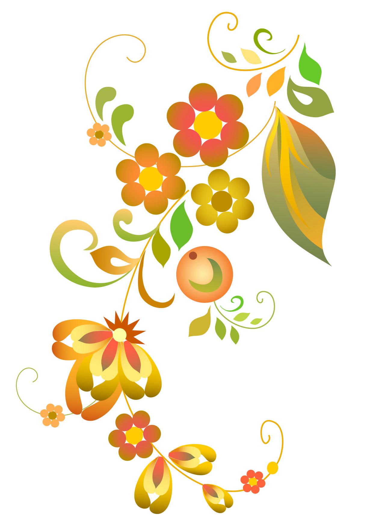 free vector beautiful flower pattern vector 020885 1 01 jpg 1240 rh pinterest com free vector flower arramgement free vector flower petals