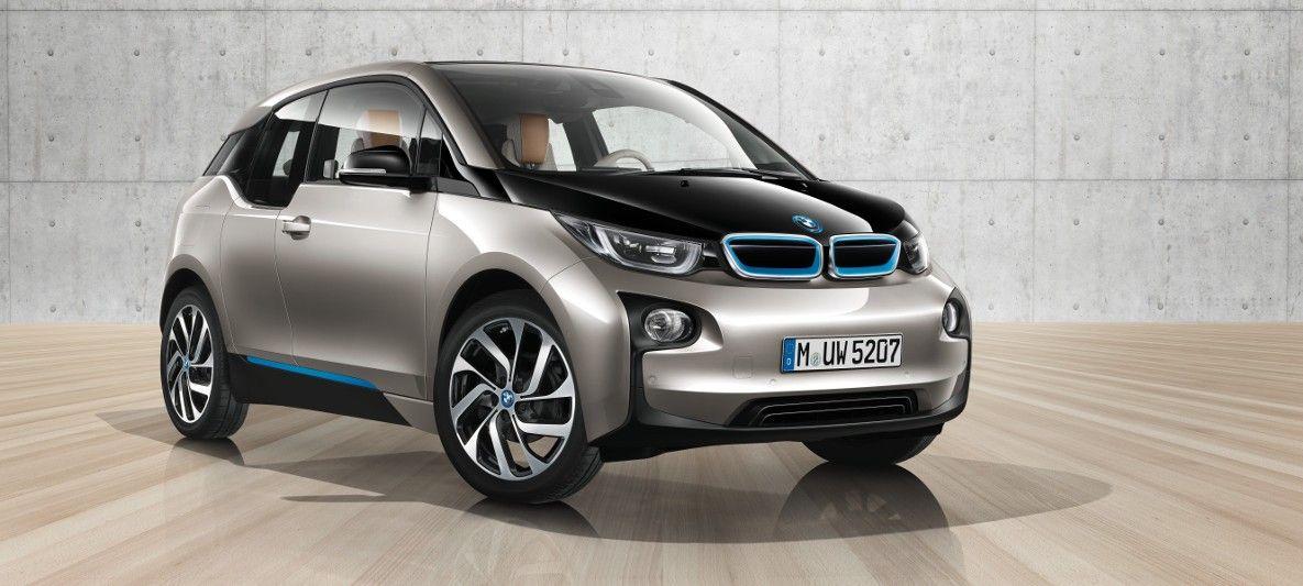 Bmw I3 Har En Design Som Står For Visjonære Og Bærekraftige Løsninger Med Helt Ny Smart Carbmw