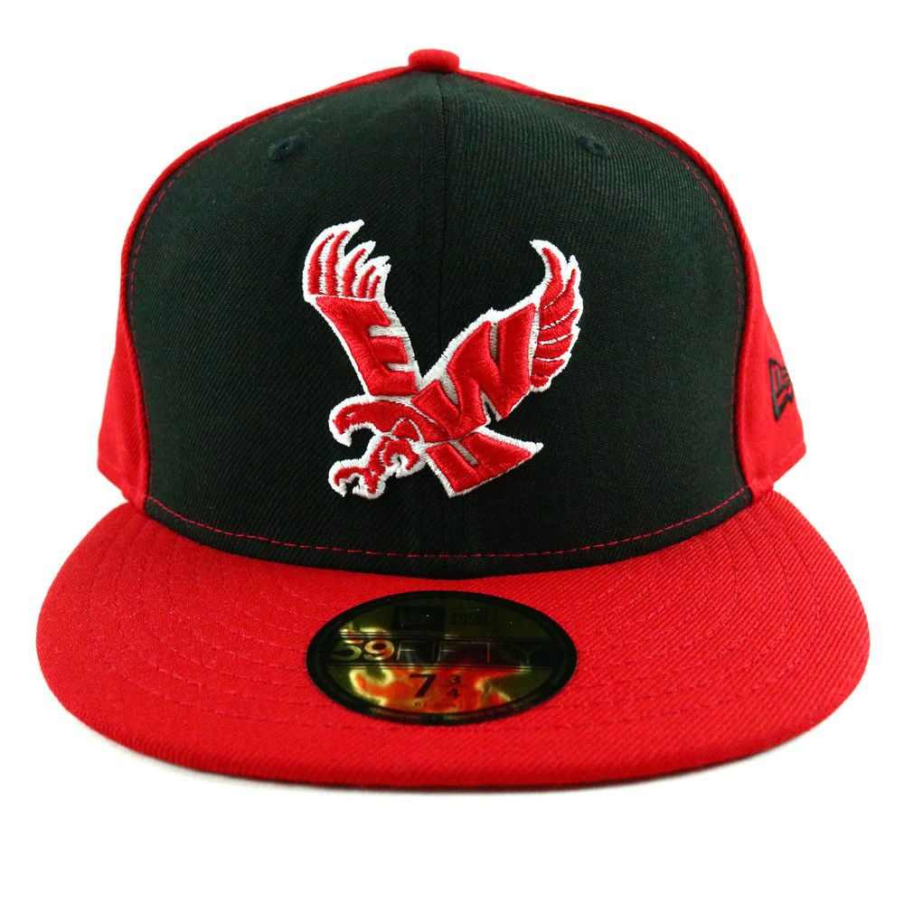 EWU Athletics Unisex New Era Cap Red Black Baseball Hat