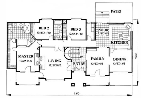Feng shui specialty european house plans home design m for Feng shui garage