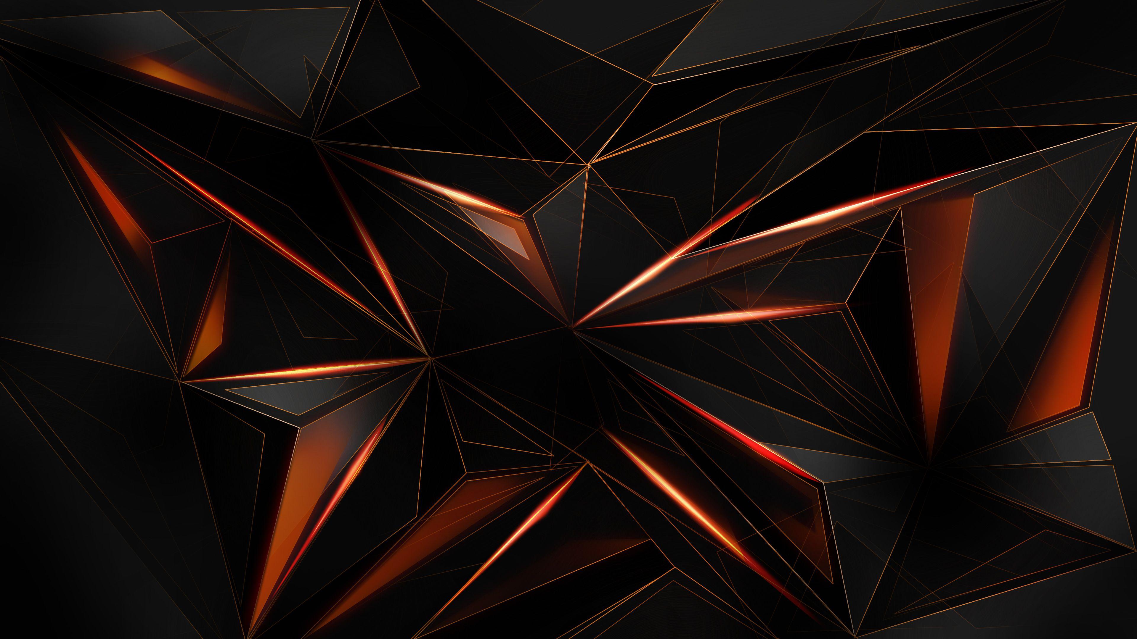 Abstract Shapes Polygon Hd 4k Deviantart Abstract