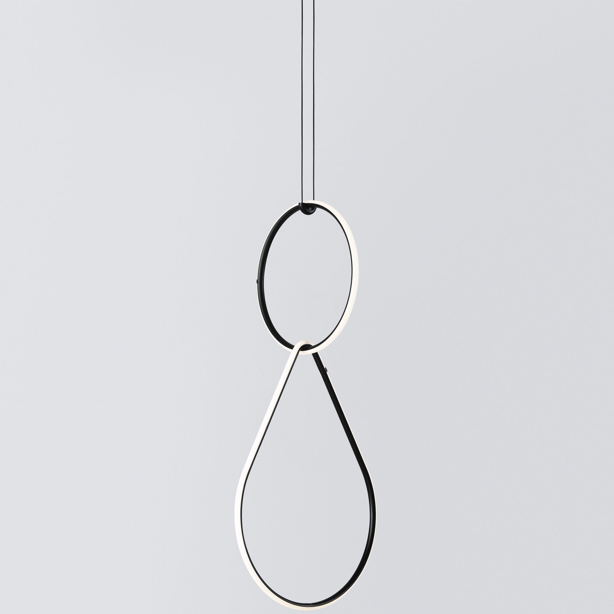 Arrangements Round Small Two Element Suspension By Flos