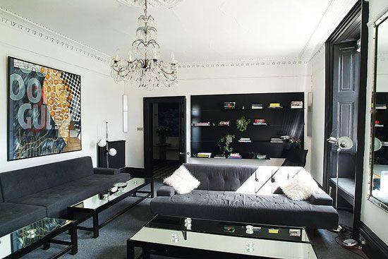 10 Ways To Lighten Up Black Furniture Living Room 2021 Furniture Dark Furniture