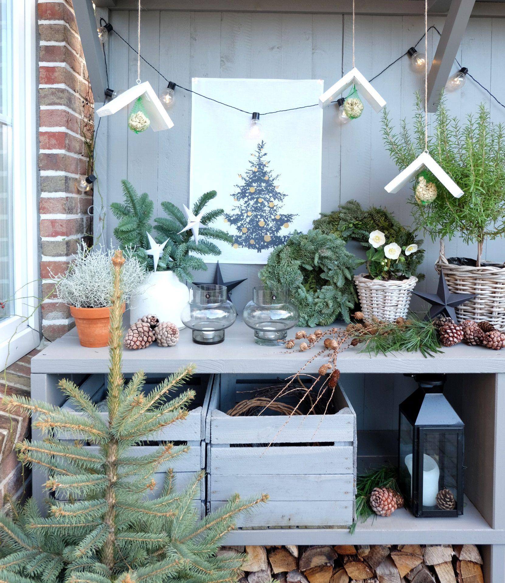 Vogelhaus Bauen Diy Weihnachten Garten Garden Basteln Mit Kindern Selbermachen Blog Weihnachtsgeschenk Ga Bauernhaus Weihnachten Dekor Vogelhaus Bauen