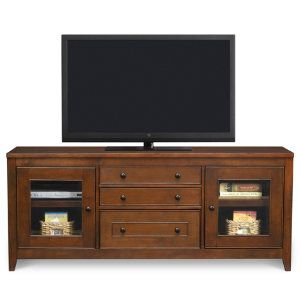 Chocolate 64 Console Media Centers Art Van Furniture