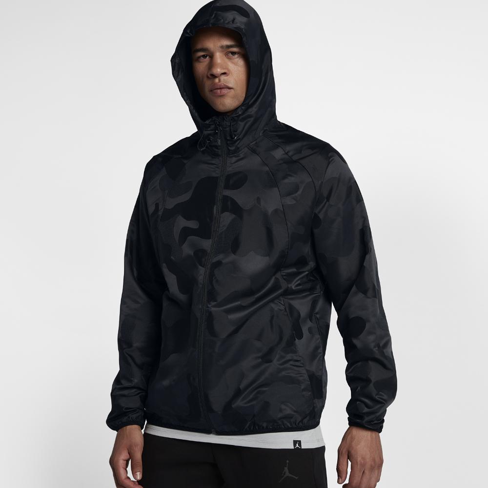 05f5a2b7b954 Jordan Sportswear Wings Camo Packable Windbreaker Men s Jacket
