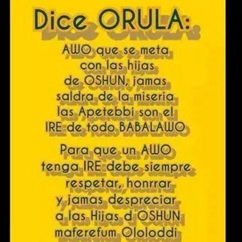 Dice Orula Dice Ifa Frases Orisha Yoruba Religion Ifa Religion
