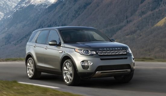 The new Land Rover Discovery Sport. I am in love.