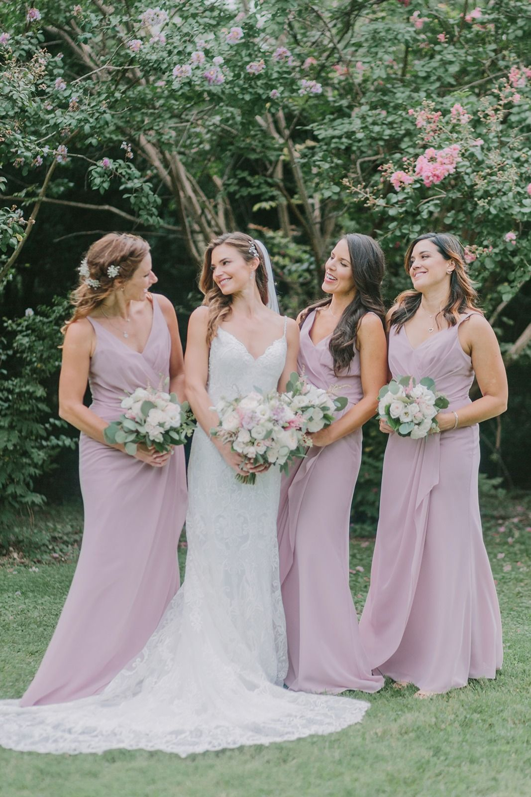 Looking For Blush And Light Pink Bridesmaid Dresses Brideside S