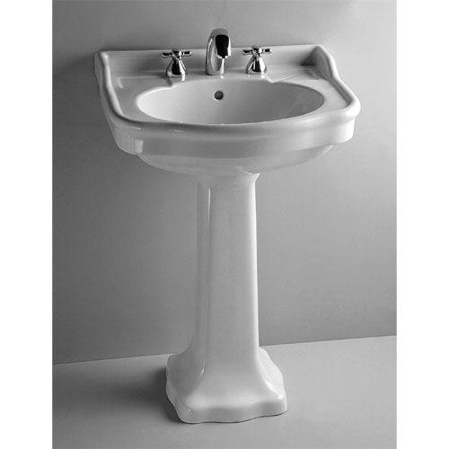 Aria Pedestal Le Bijou Collection Pedestal Sink Sink Modern