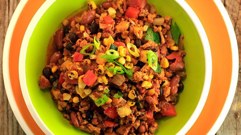 Feed-A-Neighbor Turkey and Veggie Chili