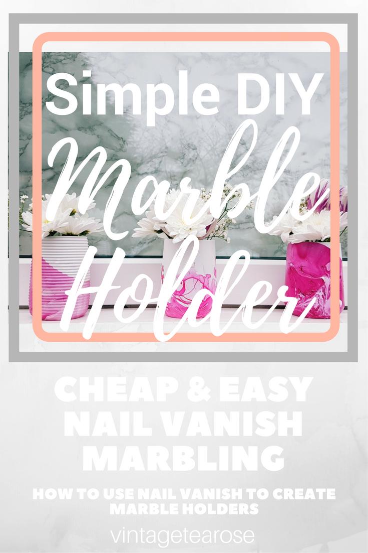 DIY Marble Tumblers Diy, Easy diy, Tea roses