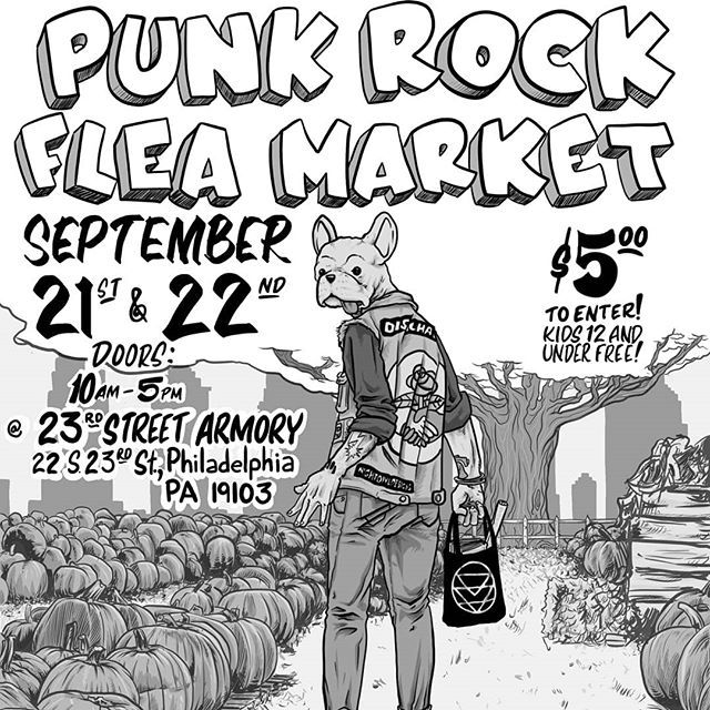 Artistbooks Ideas: This Weekend I'll Be At The Philly Punk Rock Flea Market