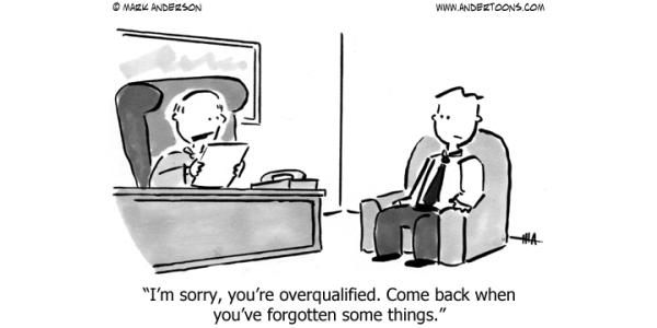 Is gelijk welke job beter dan geen job? Overkwalificatie in beeld gebracht - Mensenkennis.be