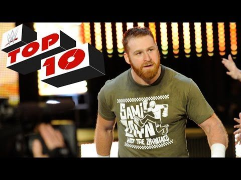 JESSIE SPENCER: Top 10 WWE Raw moments: May 4, 2015