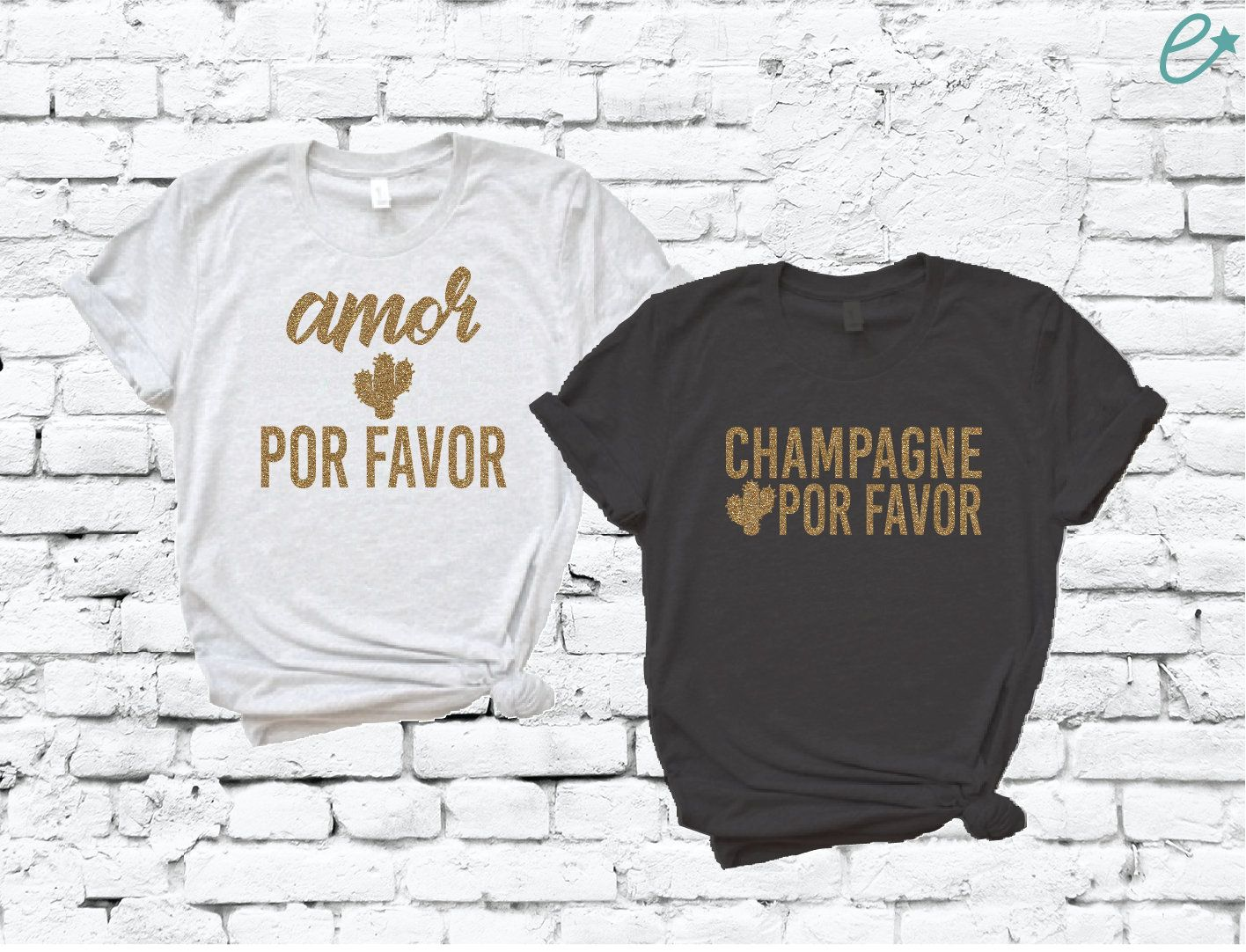Amor Por Favor and Champagne Por Favor Cactus Shirts 3413 BELLA+CANVAS Unisex Triblend Tee Soft 50% polyester/25% Airlume combed and ring-spun cotton/25% rayon, 40 singles 3.8 ounce triblend t-shirt. Fabric combination has an extremely soft hand. Side-seamed. Retail fit. Unisex sizing. How to Care for your Custom: Hand Wash and Hang, or Machine Wash Cold, Tumble Dry Low If you have any questions feel free to ask via message :-) Thank you! Stay Empowered!